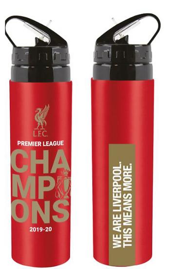 Liverpool Champions EPL 19 20 aluminium 750 ml bottle