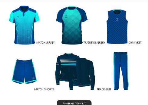 Piranha Football team kit
