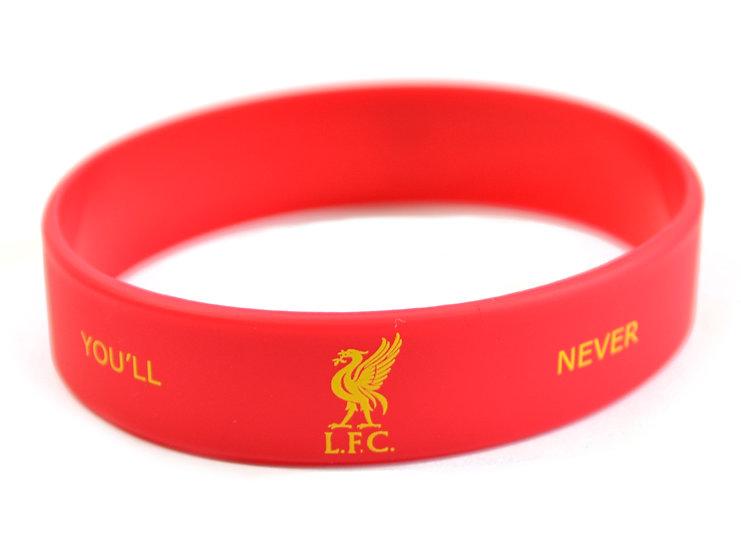 Liverpool FC silicon wrist band