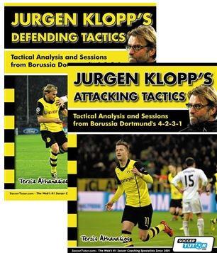 JURGEN KLOPP'S ATTACKING AND DEFENDING TACTICS BOOK SET - TACTICAL ANALYSIS