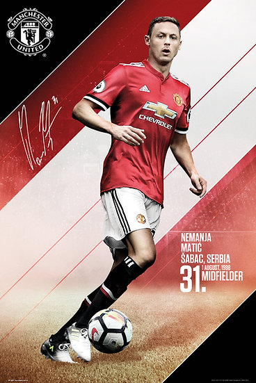 Manchester United  Matic 17-18 SP1449