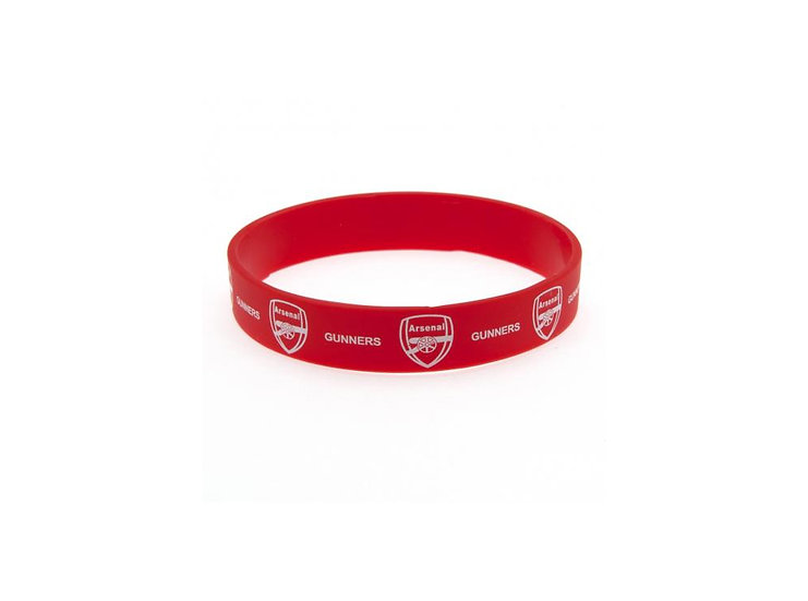 Arsenal silicon wrist band