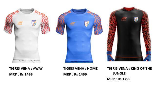 India national fan football jersey Tigris Vena home,blue
