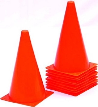 NIVIA MARKING CONES (12 inches) SET of 6