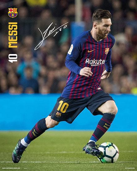 Barcelona FC Messi 18-19 Mini MP2175