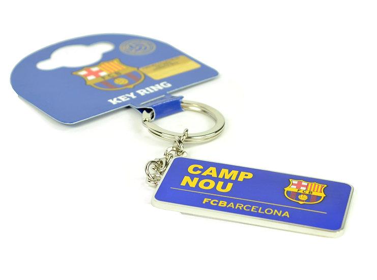 Barcelona Camp Nou sign keyring