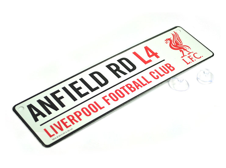 Liverpool 3D window sign