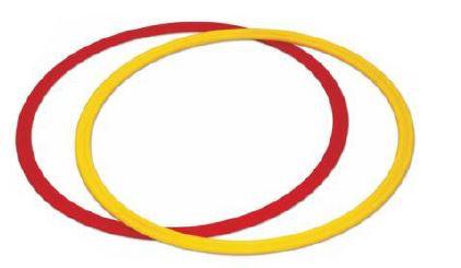 Flat agility rings set of 12