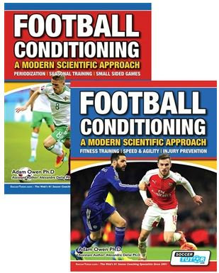 FOOTBALL CONDITIONING: A MODERN SCIENTIFIC APPROACH 2 BOOK SET - SPEED & AGILITY