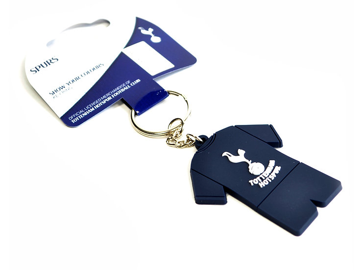 Spurs PVC key chain