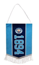 Manchester City F.C. Mini Pennant Official Merchandise