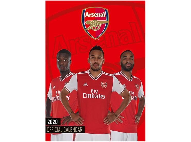 Arsenal 2020 Calender-Pre Order