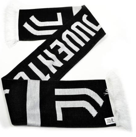 JUVENTUS HOME SCARF BLACK WHITE