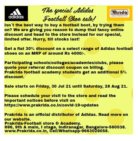 Adidas shoe sale advert 29Jul21.PNG