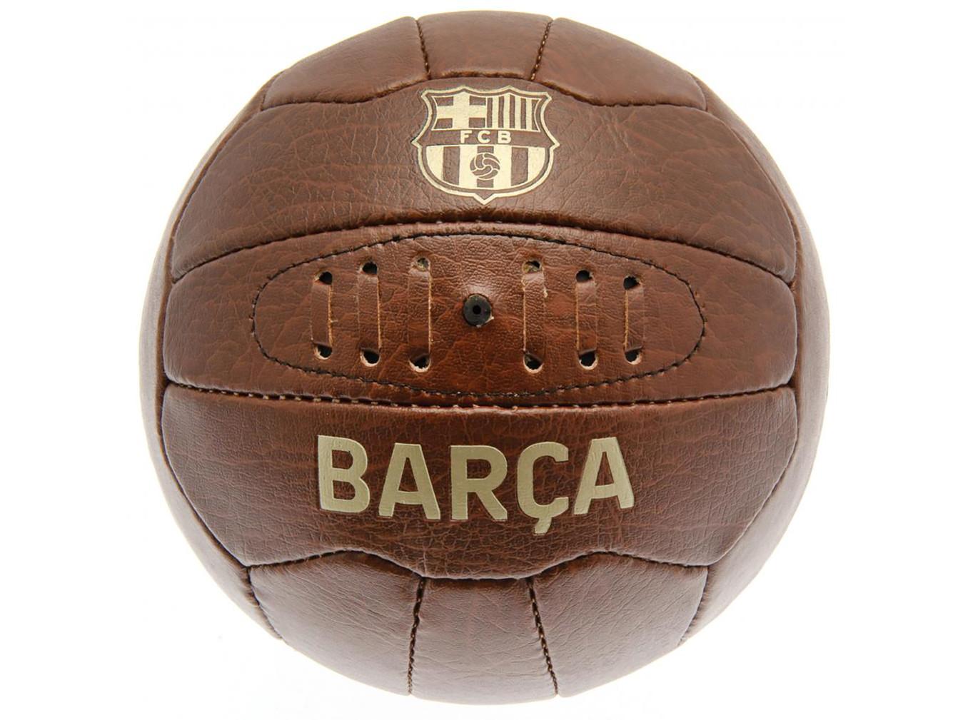 FC Barcelona faux leather football