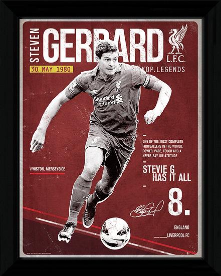 Liverpool Gerrard Retro PFC584