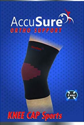 Accusure sport knee cap single