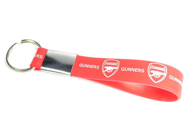 Arsenal Silicone keyring