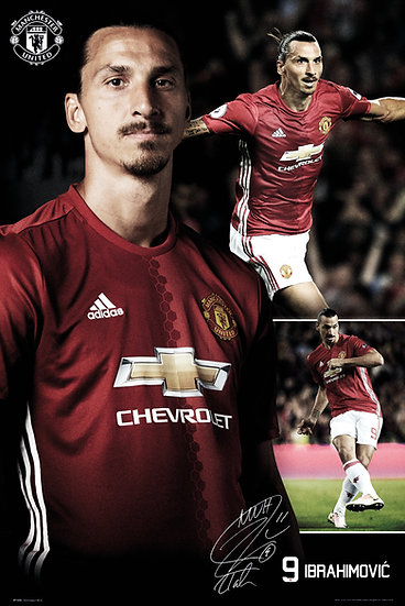 Manchester United Ibrahimovic Collage 16 SP1435