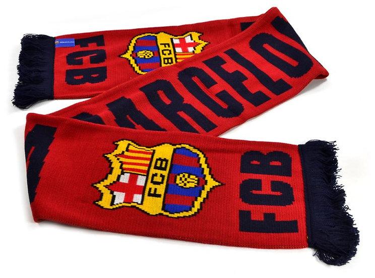 FC Barcelona burgundy scarf
