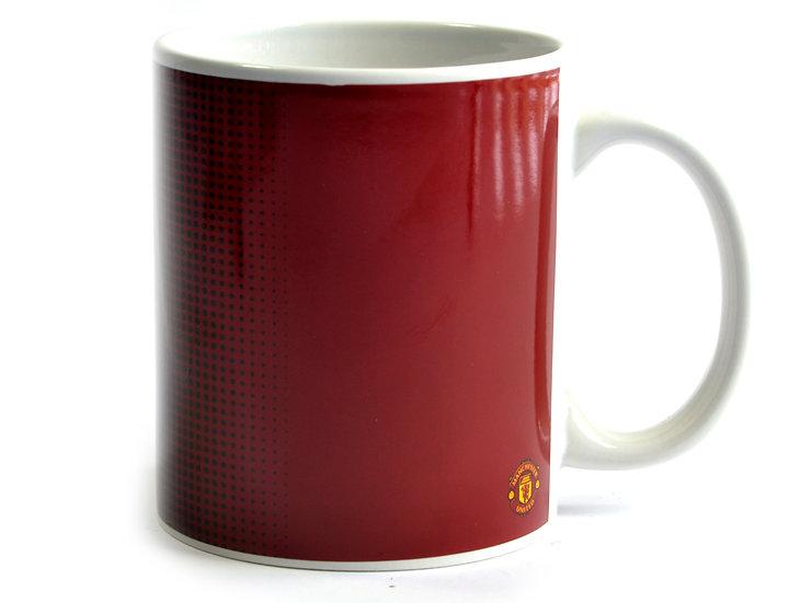 Mancheter United FC half tone mug