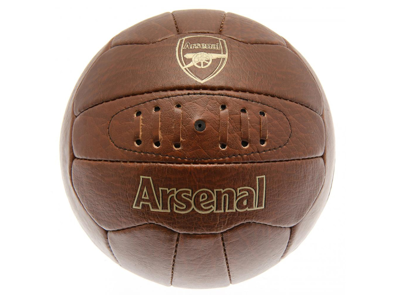 Arsenal faux leather football