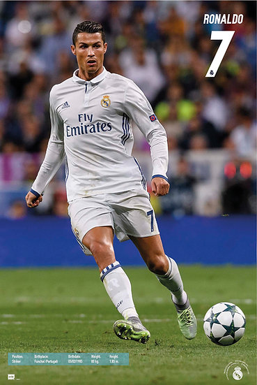 Real Madrid Ronaldo 16/17 SP1413