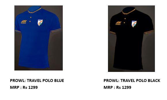 National football team travel polo