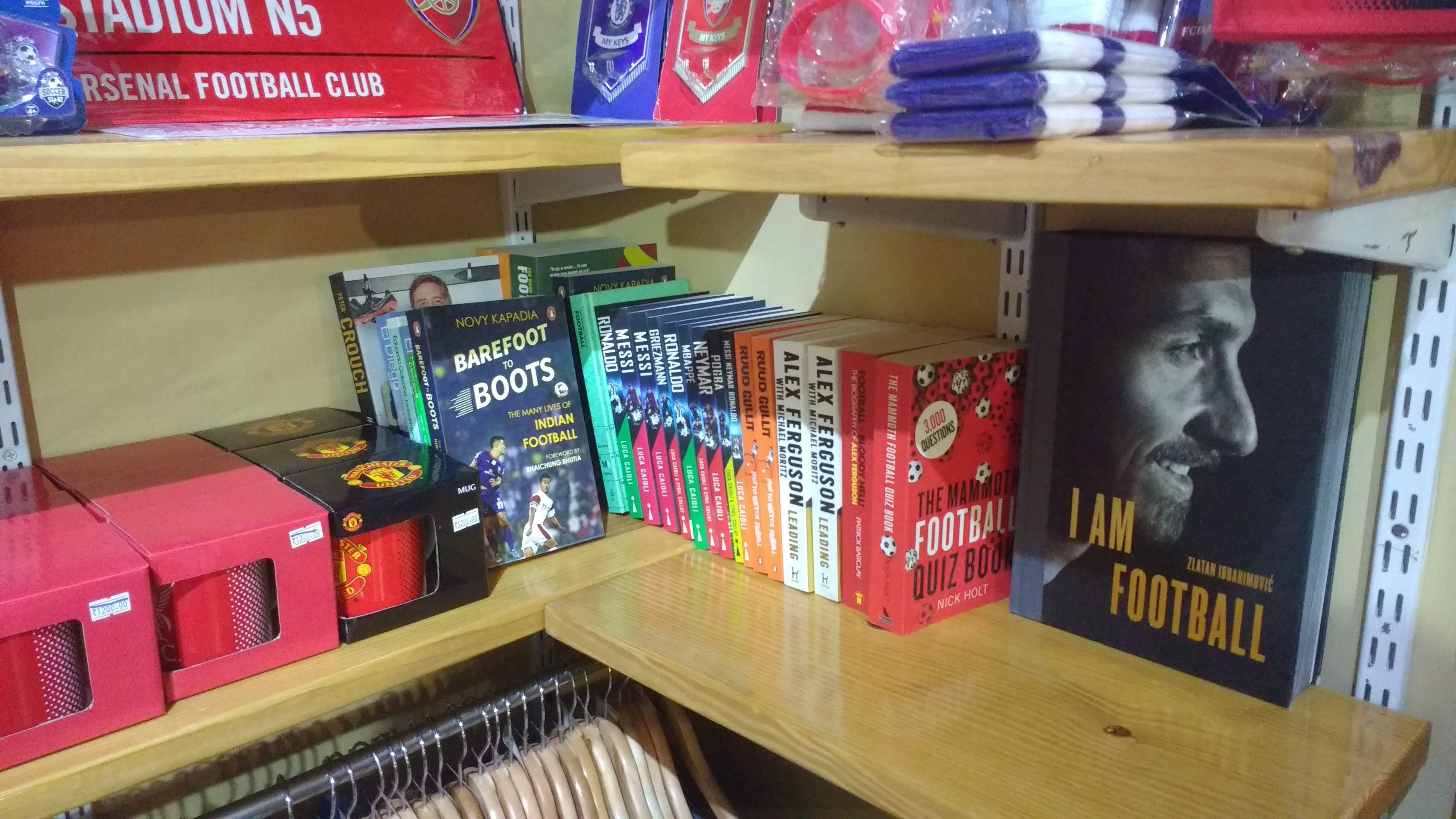 Football books for liesure