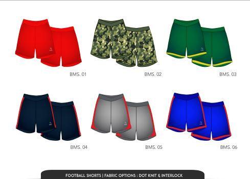 Piranha football shorts