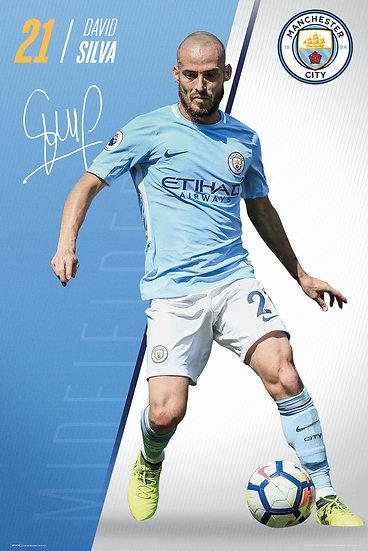 Manchester City  Silva 17-18 SP1474