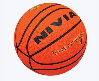 Nivia True orange size 7 Basketball