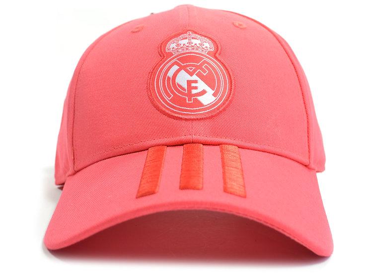 Adidas Real Madrid fan cap vivid red