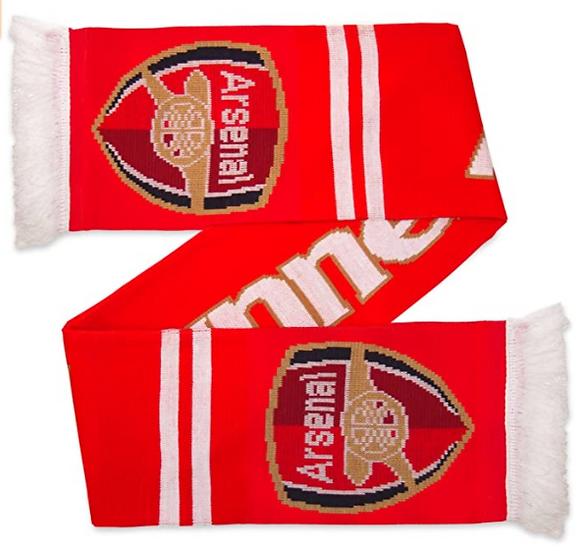 Arsenal FC Gunner scarf