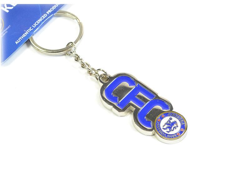 Chelsea text keyring