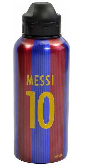 Messi aluminum water bottle .4l