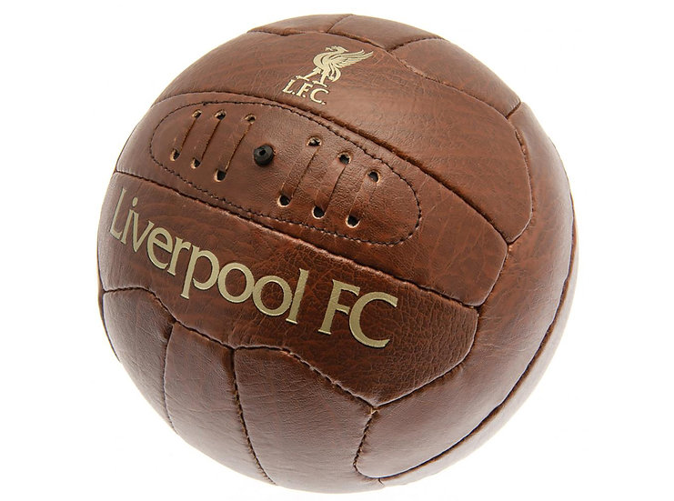 LIVERPOOL FAUX LEATHER RETRO BALL SZ5