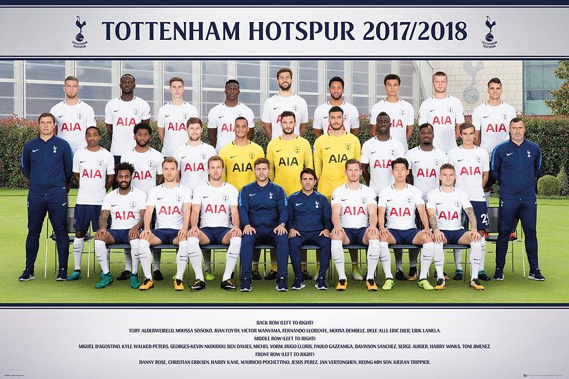 Tottenham  Team Photo 17-18 SP1494