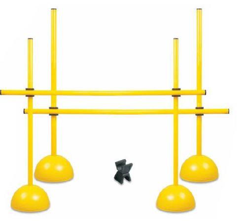 Adjustable hurdles set