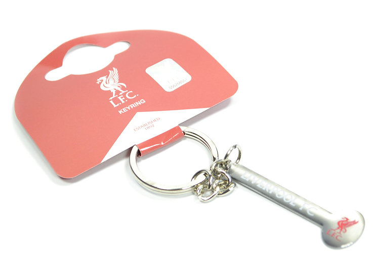 Liverpool FC text keychain