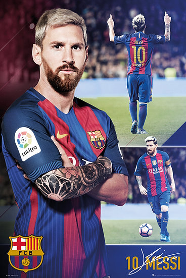 Messi collage maxi poster SP1425