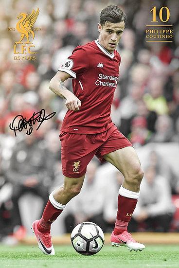 Liverpool  Coutinho 17-18 SP1481