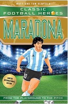 Football heros Maradona