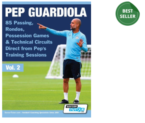 PEP GUARDIOLA - 85 PASSING, RONDOS, POSSESSION GAMES & TECHNICAL CIRCUITS DIRECT