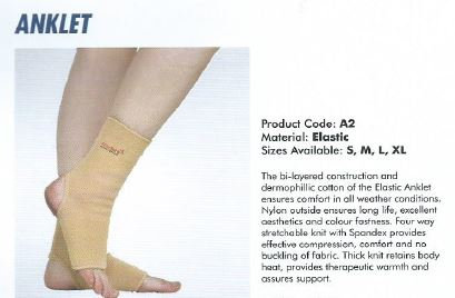 Accusure anklet