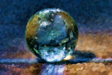 Dads World (vintage marble)
