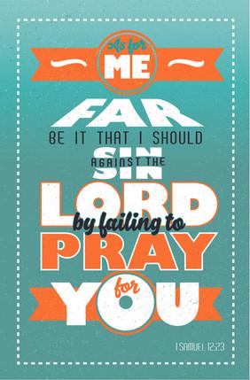 I Samuel 12:23