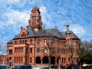 Historical Ellis County Courthouse
