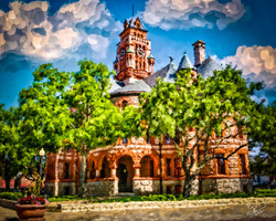 Ellis County Courthouse-Summertime