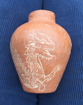 Wood fired dragon pot 2020